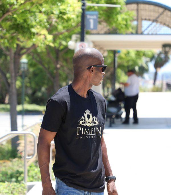 Pimpin University T Shirt 8b